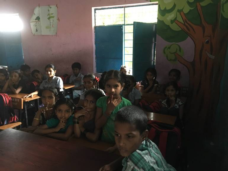 JCWI Clean Water Initiative and School Adoption: Govt. School Serilingampally
