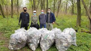 Canceled Conant Park Cleanup Yields 310 Pounds of Garbage; Next Cleanup Scheduled for May 1