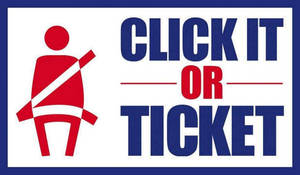 Seat Belt Enforcement and Education Campaign to be Conducted Locally as Part of Nationwide Click It or Ticket Mobilization May 24 - June 6, 2021