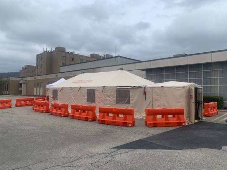 Chilton Medical Center Builds Triage Tent as Part of Preparedness Planning with Morris County OEM