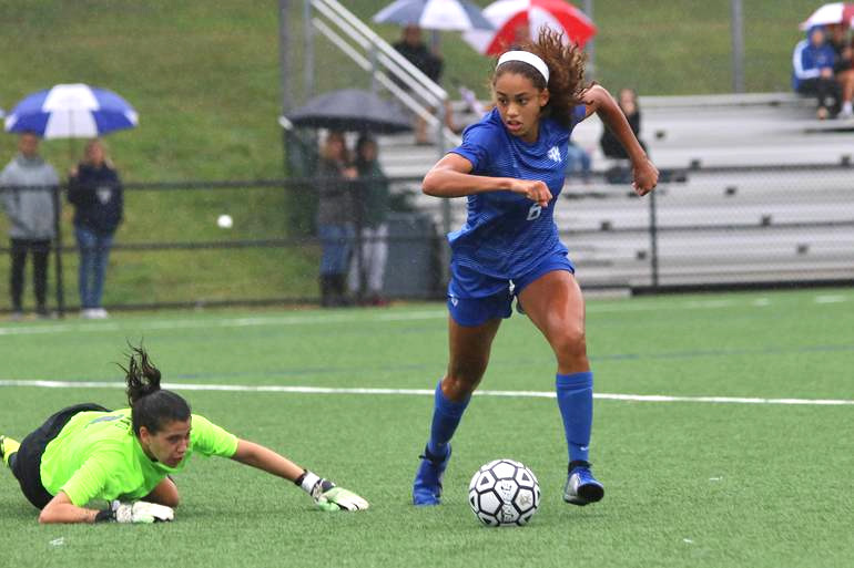 Scotch Plains-Fanwood Girl's Soccer Star Corinne Lyght is this week's Joint Motion Physical Therapy Athlete of the Week.
