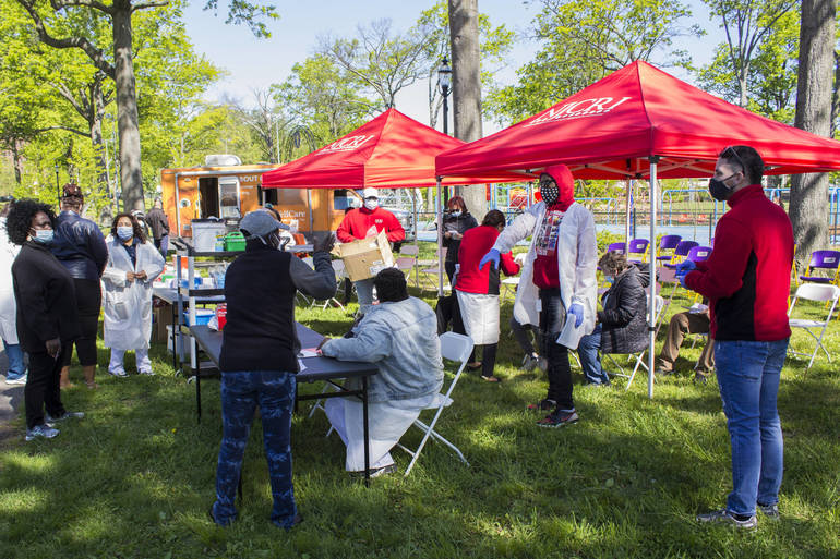 Newark Officials Host First Round of Citywide Pop-Up Clinics to Address Low Vaccination Rate