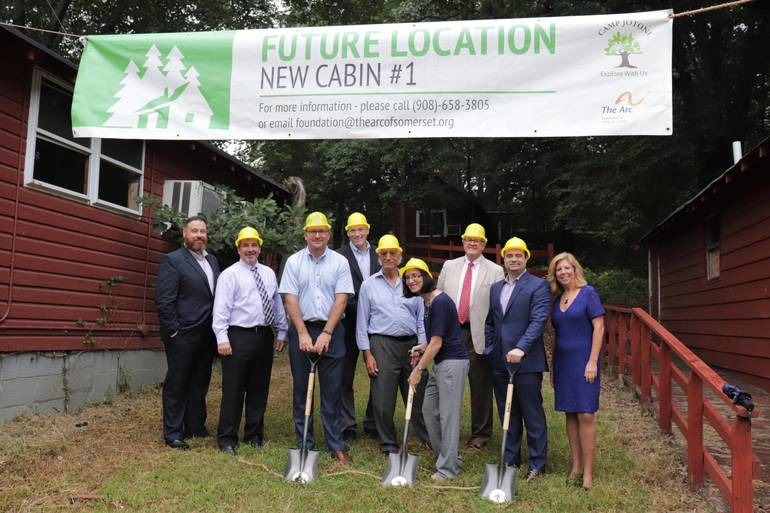 Professional Team Breaks Ground at Camp Jotoni for Renovation