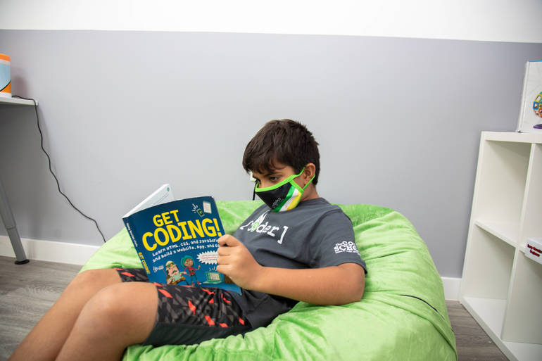 Summer Camp at The Coder School; A Taste of Everything