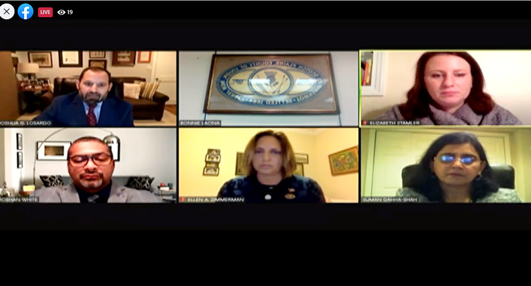 The Scotch Plains Council meeting was held via Zoom
