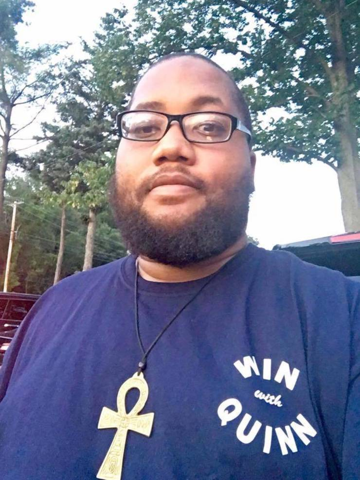 Paterson resident and Education/Civil Rights Activist Corey Teague