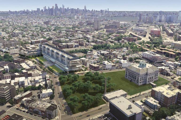 Hudson County's Upgraded Justice Complex Will Proceed After Planning Board's Review