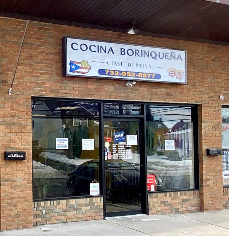 Cocina Borinqueña in Parlin.