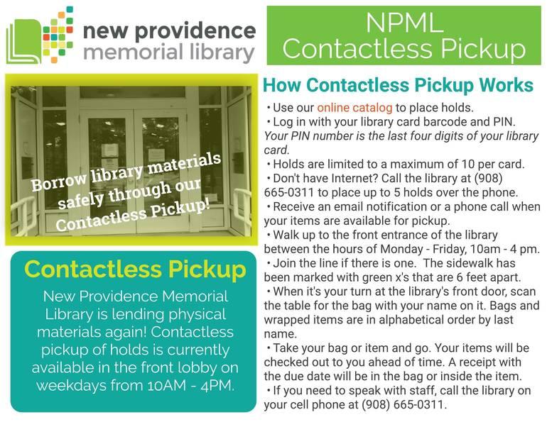 NPML Contactless Pickup