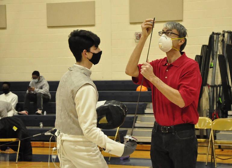 Gov. Livingston Boys Fencing Team a Narrow Victory Against Montclair High School