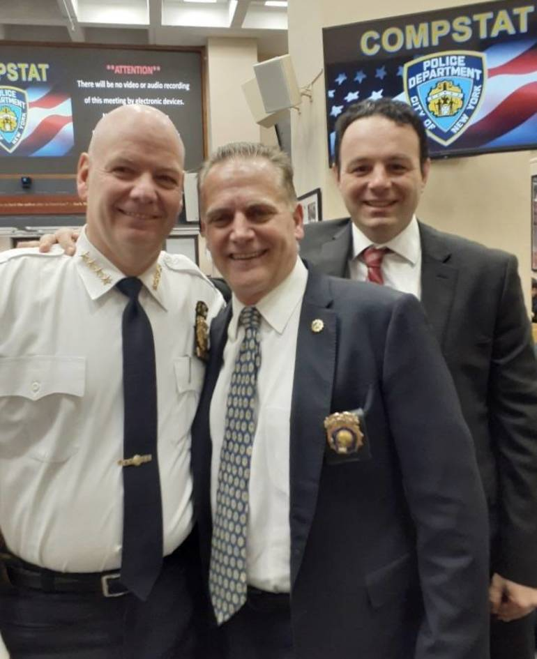 Mayor Andre Sayegh, Paterson City Officials, Visit NYPD Headquarters