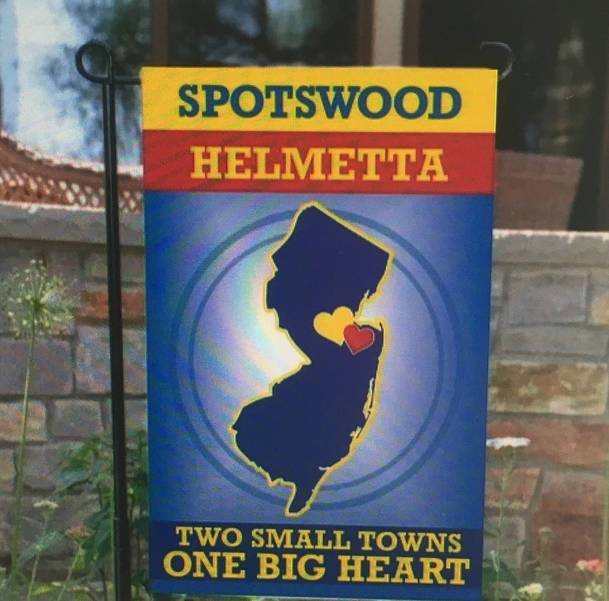 Spotswood High School Students Design Community Garden Flag For Spotswood PTA Fundraiser