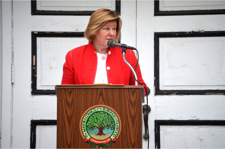 Fanwood Mayor Colleen Mahr