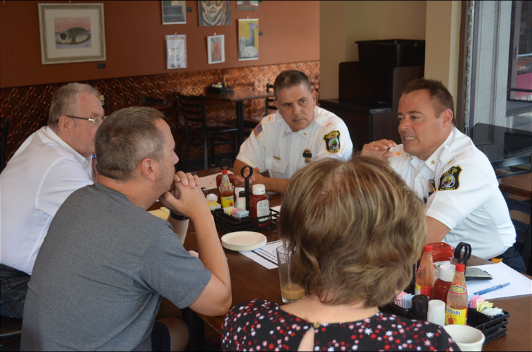 Coffee with a Cop - Oct. 2, 2019 at Maras fanwood