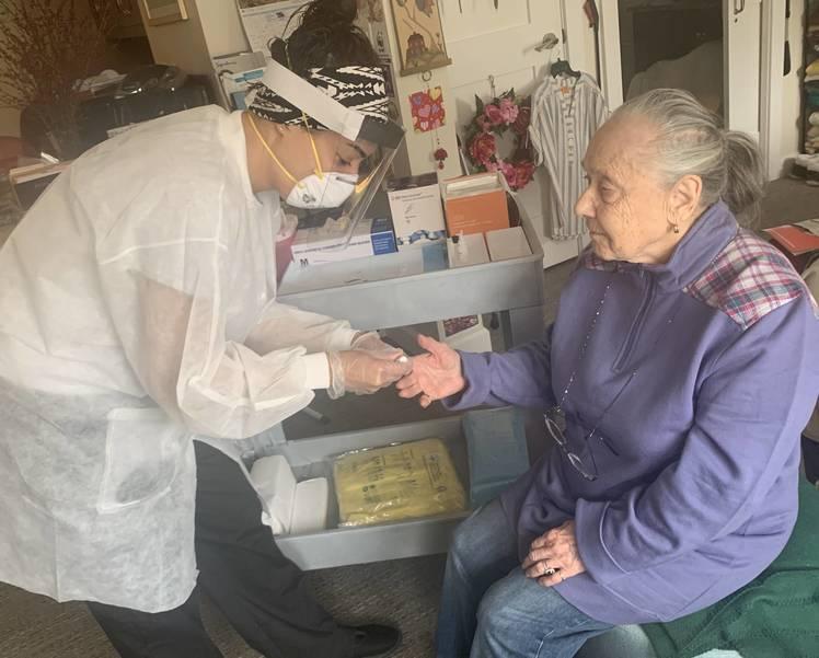 Covid Testing Ann Sieminski Assisted Living Resident.jpg