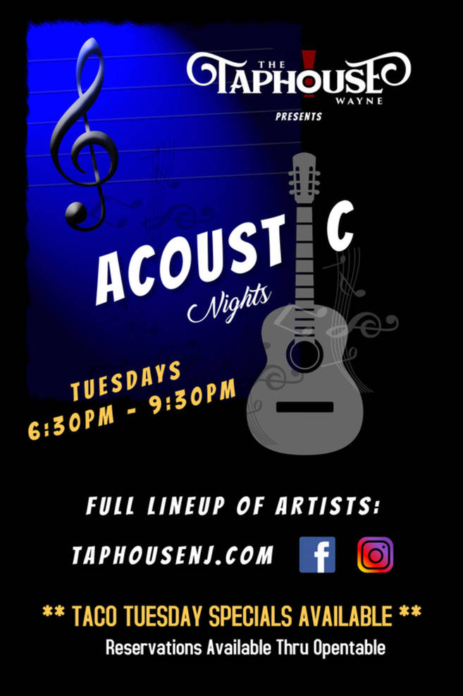 Get excited for Acoustic Nights at The Taphouse!