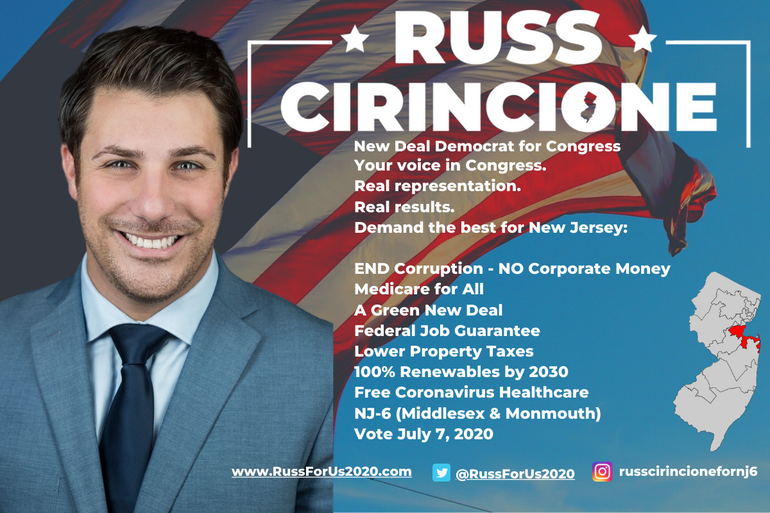Russ Cirincione New Deal Democrat for Congress NJ-6 Middlesex and Monmouth Counties Vote June 2, 2020 (3).png
