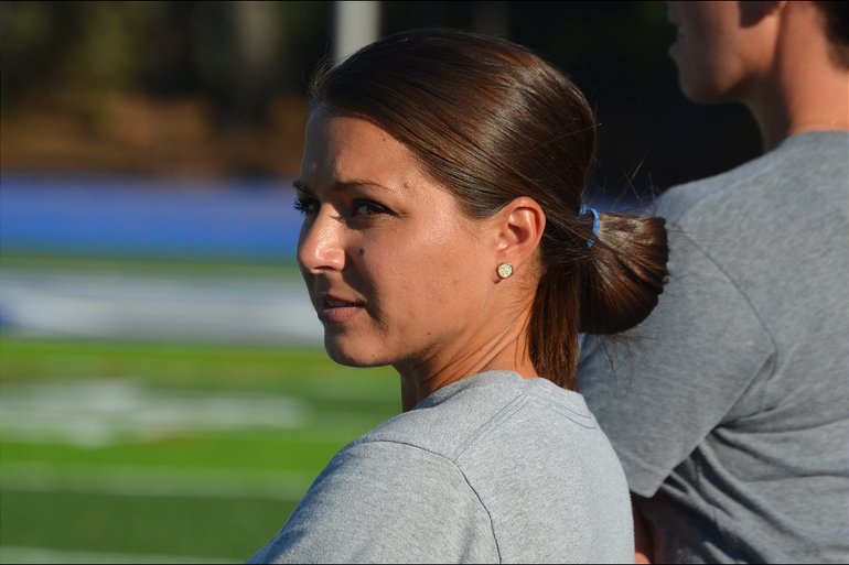 Scotch Plains-Fanwood Coach Allie Neidig
