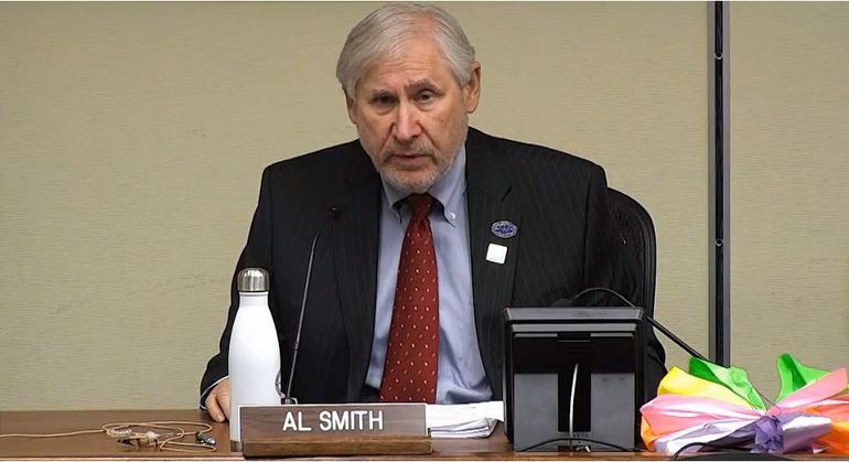 Scotch Plains Mayor Al Smith