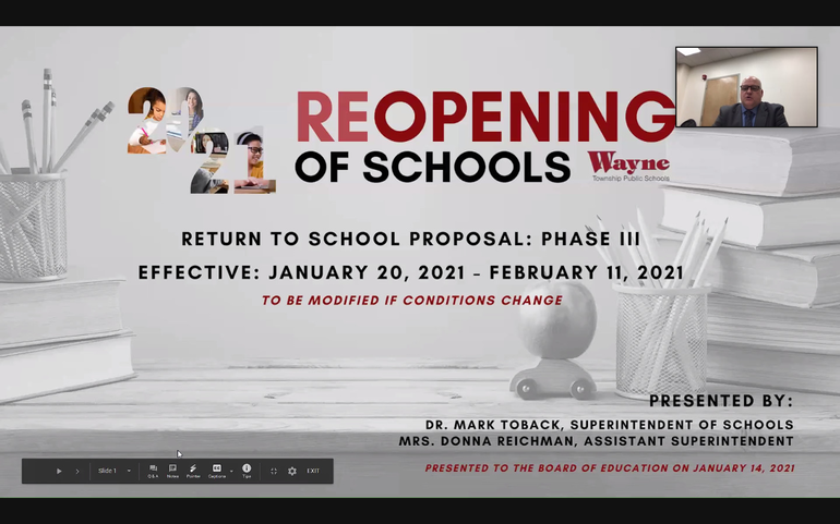 Wayne BOE Decides Whether Schools Will Remain All Virtual