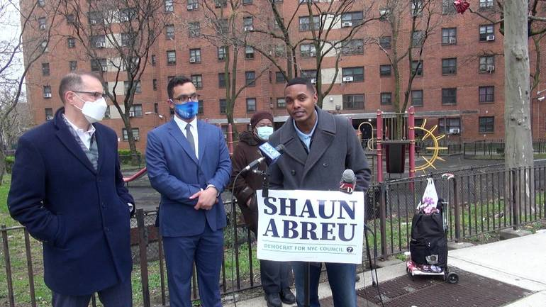 Abreu and Torres Call for Billions for Public Housing
