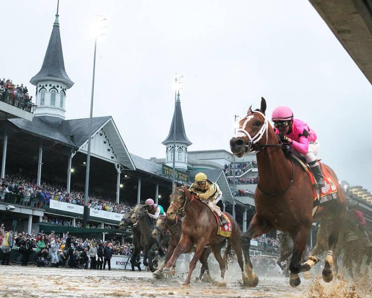 COUNTRY HOUSE - The Kentucky Derby - 145th Running - 05-04-19 - R12 - CD - Under Rail 01.JPG