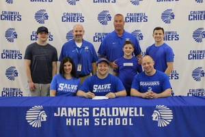 Carmen Confessore of Caldwell to Continue Football Career in College