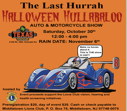 Carousel image 7ce3c57f5b9d3b0d5aee correct press release for middletown lions club the last hurrah halloween hullabaloo auto   motorcycle meet october 30