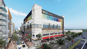 Cornerstone complex under construction in downtown Coral Springs