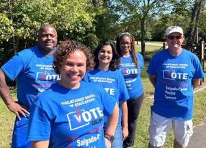 Piscataway Leaders Cherry, Scotto & Johnson Endorse BOE Column 2 Team, Putting Kids First!