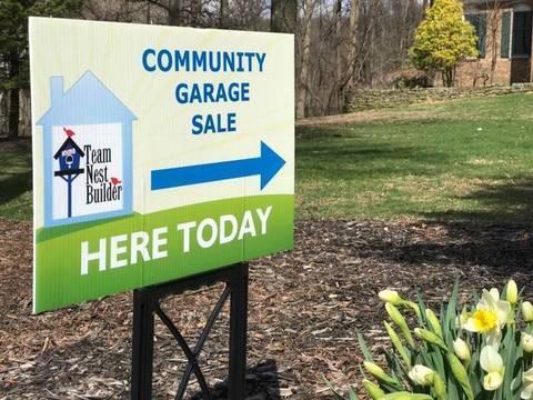 Top story 2cc3e229e2f25501f95f community garage sale lawn sign in front lawn  1
