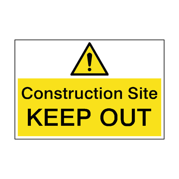 Top story 45270d929ddf06ff2eff construction site keep out hazard sign