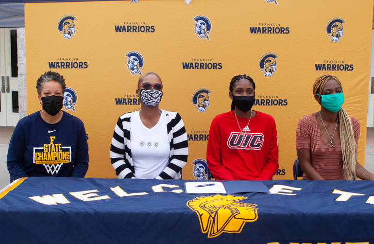 Franklin Township: Five FHS Student-Athletes Commit to Higher Education