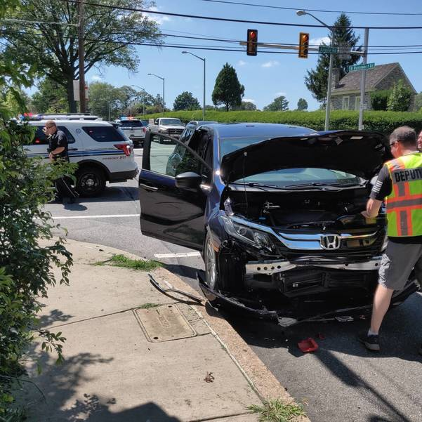 Lower Merion Police crash wynnewood road and argyle 7-14-2019 four.jpg