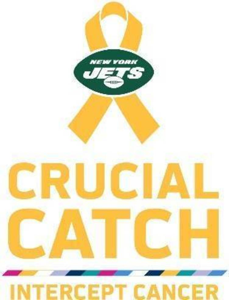 "Jets and Atlantic Health System To Fight Pediatric Cancer As Part Of The NFL's ""Crucial Catch: Intercept Cancer"" Campaign"