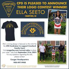 Cranford Police Department Announces Logo Contest Winner