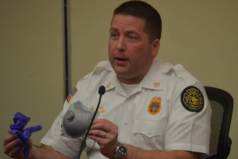 Scotch Plains Deputy Fire Chief Skip Paal