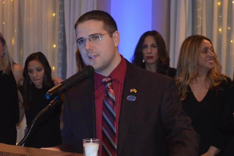 Tom Strowe at the 2019 Scotch Plains Mayor's Gala