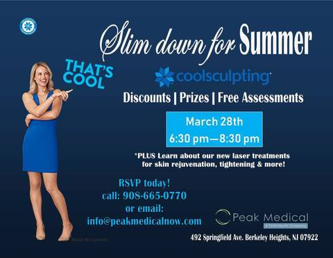 Peak Medical Hosts Coolsculpting Event March 28 | TAPinto