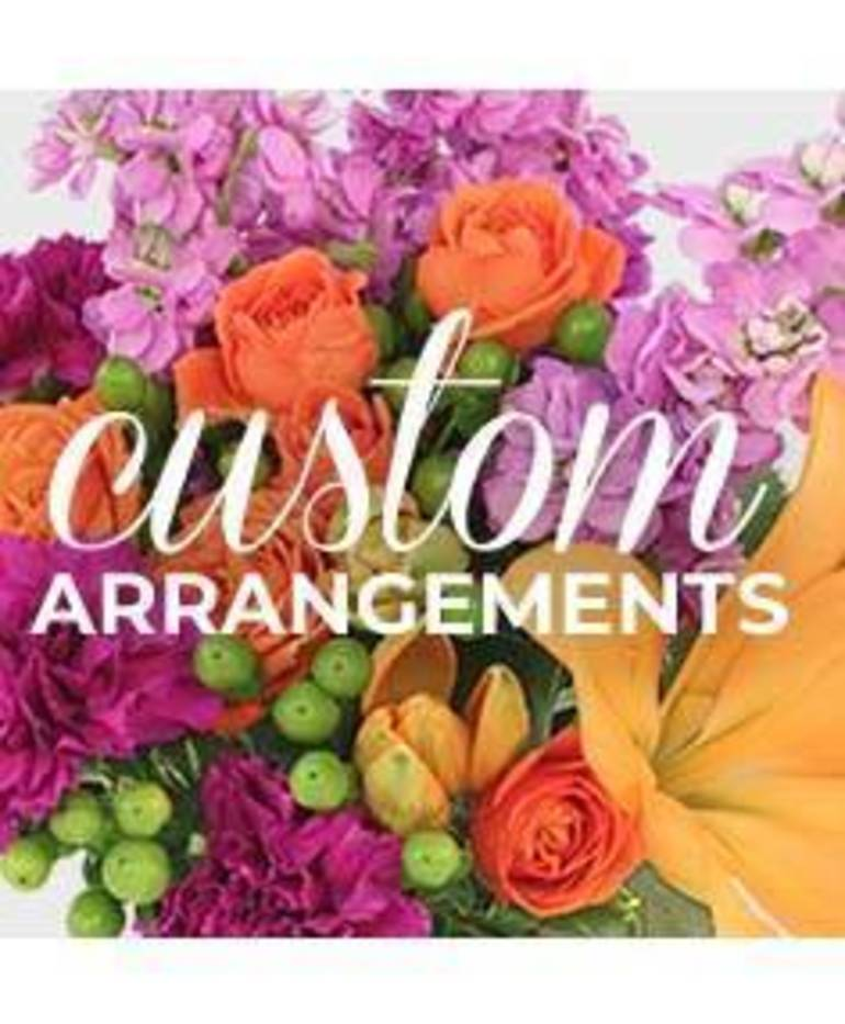 Hey Valentine! Order your flowers today at A Country Flower Shoppe and More