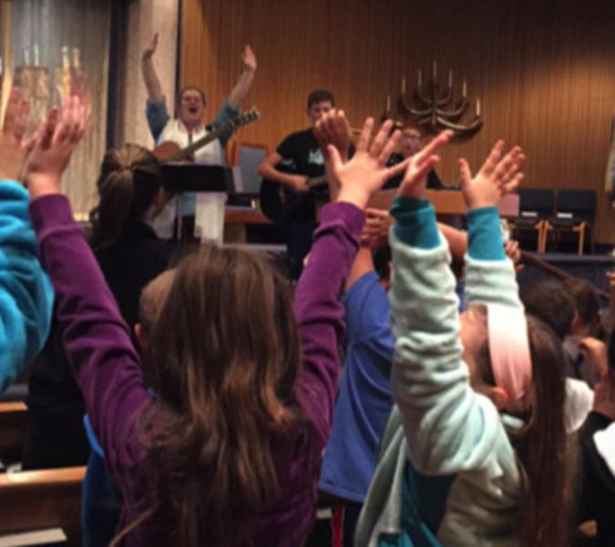 Raise your hands if you love Temple Emanu-El!