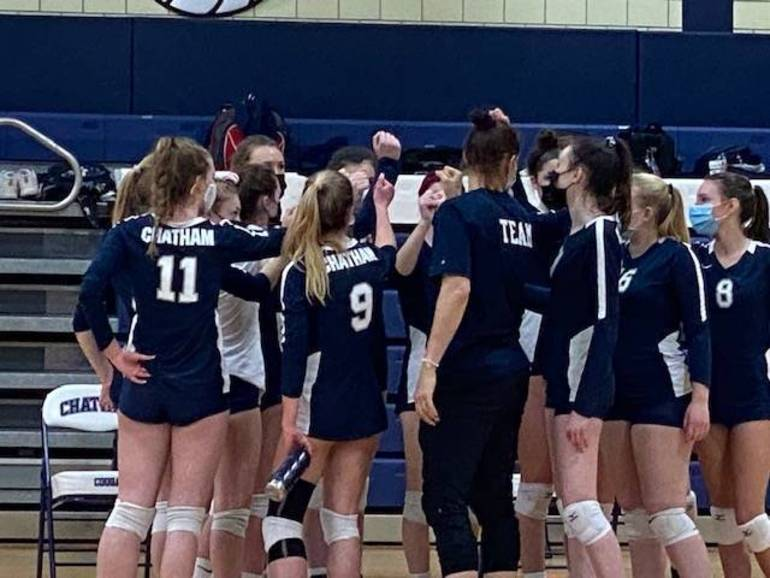 Top-Seeded Chatham Girls Volleyball Receives 1st-Round Bye, will play Host to Winner of Cranford-Payne Tech on Wednesday
