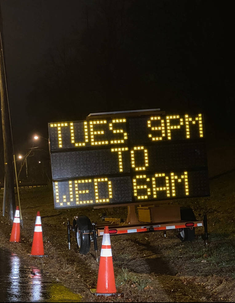 Heads Up: Traffic Delays Tomorrow at Exit 114 Parkway Entrance