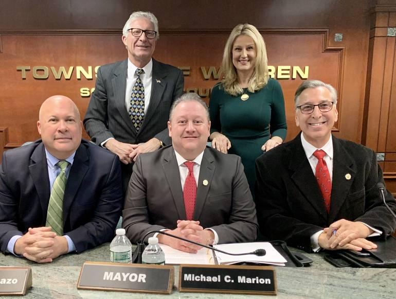 Warren Township Swears in Maziarz, Appoints New Mayor and Deputy Mayor for 2020 D876FF55-C222-4928-8BE4-4D0364EC82B4.jpeg