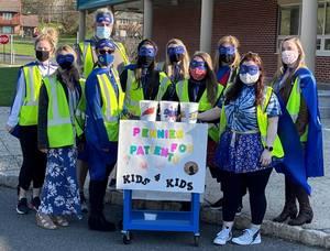 Warren's ALT Superheros Swoop In To Assist With School's Fundraising Campaign
