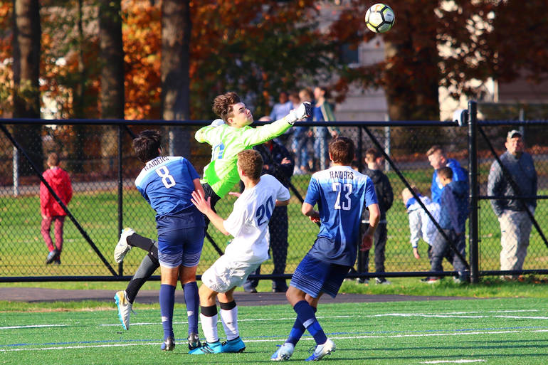 Scotch Plains-Fanwood defeats Westfield in Sectional semifinal.