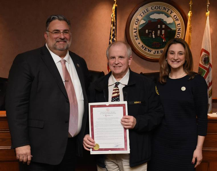 Dan Sullivan honored by Freeholders.JPG