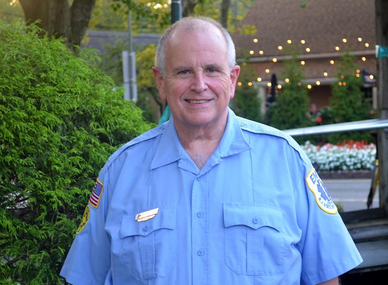Dan Sullivan is a longtime member of the Scotch Plains Rescue Squad.