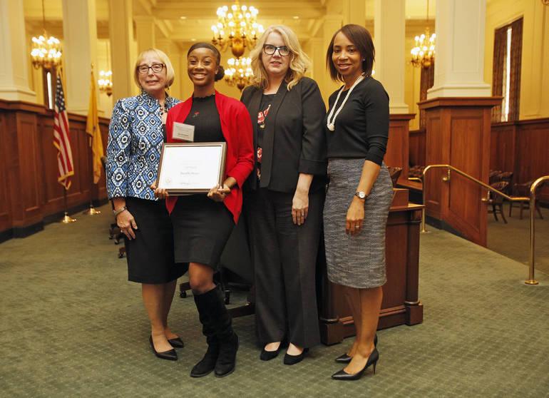 Darielle Moore Award.JPG
