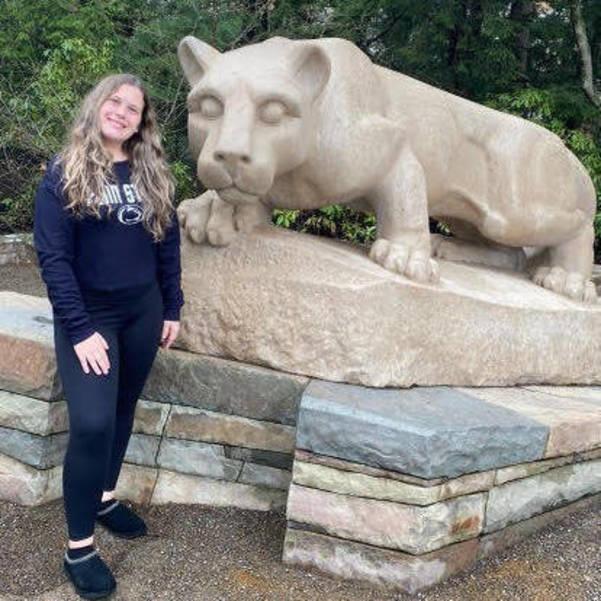 Samantha Daly, Nutley High School, Class of 2021, Penn State,